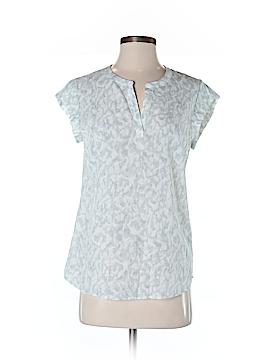 Fleur bleue Short Sleeve Blouse Size XS
