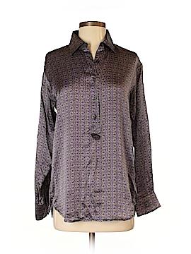 CAbi Long Sleeve Button-Down Shirt Size XS