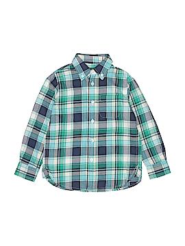 E. Land Long Sleeve Button-Down Shirt Size 4