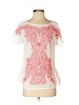 Esley Short Sleeve Blouse Size S