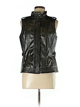 St. John Leather Jacket Size 10