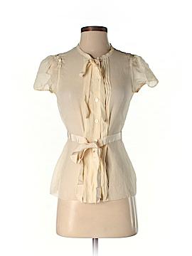 Moschino Short Sleeve Blouse Size 4