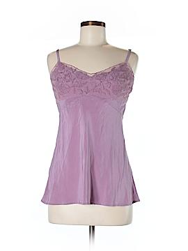 Fleurette Sleeveless Silk Top Size M