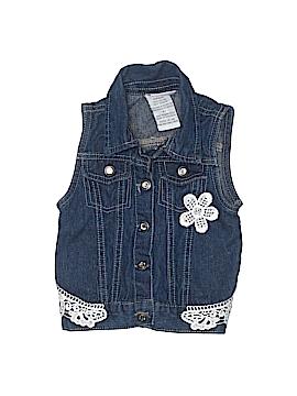 Little Lass Denim Vest Size 4T