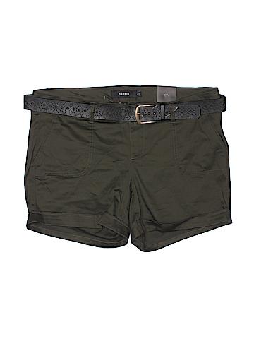Torrid Khaki Shorts Size 16 (Plus)