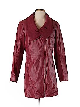 IMAN Leather Jacket Size S