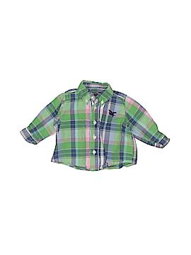American Living Short Sleeve Button-Down Shirt Size 3 mo