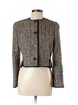 Jones New York Women Wool Coat Size 10 (Petite)
