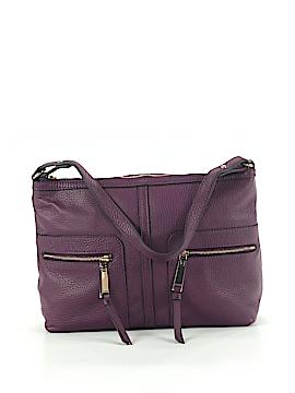 Tommy Hilfiger Leather Shoulder Bag One Size