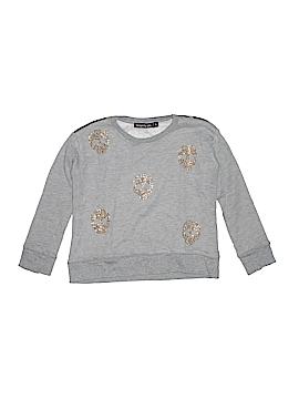 Flowers By Zoe Sweatshirt Size 4