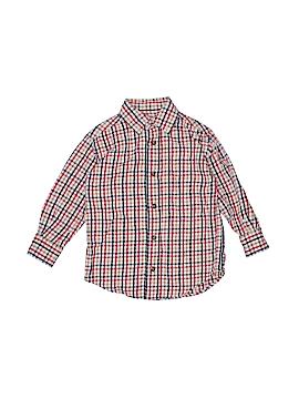 Class Club Long Sleeve Button-Down Shirt Size 3