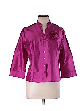 Spenser Jeremy 3/4 Sleeve Silk Top Size L