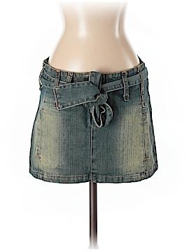 Trf Denim Rules Denim Skirt Size 4