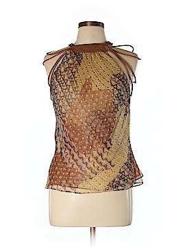 Catherine Malandrino Sleeveless Silk Top Size L