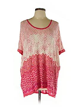 BCBGMAXAZRIA Short Sleeve Top Size 0S (Plus)
