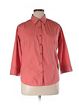 Columbia 3/4 Sleeve Button-Down Shirt Size XL
