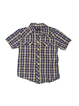 Ben Sherman Short Sleeve Button-Down Shirt Size 6 - 7