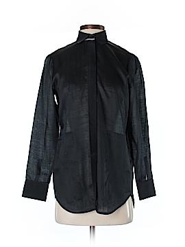Lafayette 148 New York Long Sleeve Blouse Size P