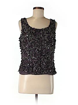 Ellen Tracy Sleeveless Silk Top Size 12 (Petite)
