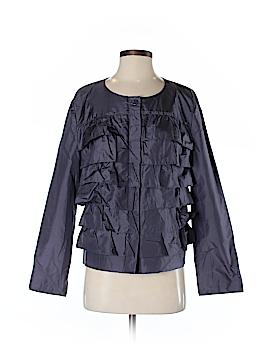 Garnet Hill Long Sleeve Silk Top Size 12