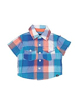 Hurley Short Sleeve Button-Down Shirt Size 3-6 mo