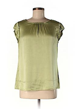 GNW Short Sleeve Silk Top Size M
