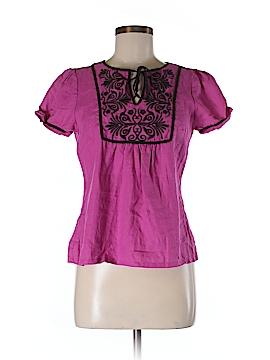 Alexandra Bartlett Short Sleeve Blouse Size S