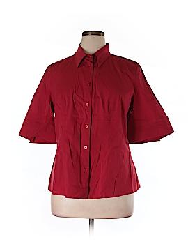Escada Short Sleeve Button-Down Shirt Size 46 (EU)