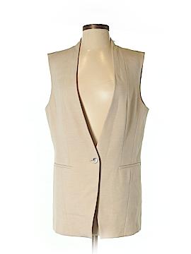 White House Black Market Tuxedo Vest Size 8