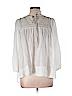 Development By Erica Davies Women 3/4 Sleeve Blouse Size L