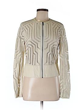 Catherine Malandrino Leather Jacket Size 8