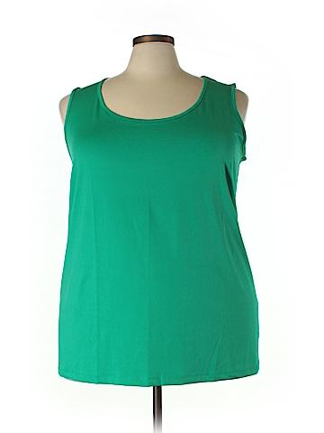 Catherines Sleeveless Top Size 5X (Plus)
