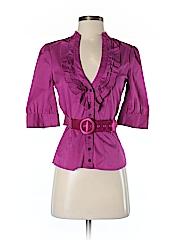 Bebe Women 3/4 Sleeve Blouse Size XS