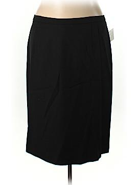 Bigio Collection Wool Skirt Size 22W (Plus)