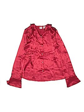 Talbots Kids Long Sleeve Blouse Size 18