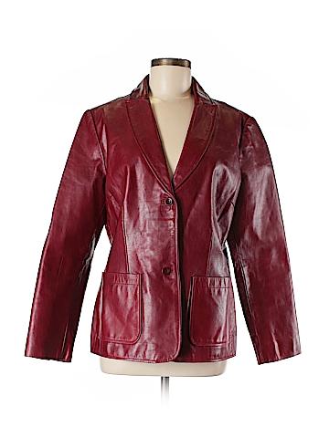 Gap Leather Jacket Size L