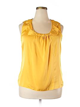 Elie Tahari Sleeveless Silk Top Size XL