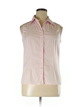 Allison Taylor Sleeveless Button-Down Shirt Size XL