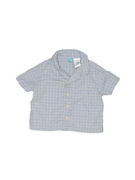 G Short Sleeve Button-Down Shirt Size 3-6 mo