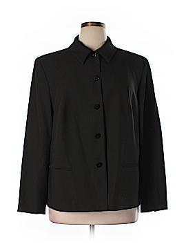 Dana Buchman Wool Blazer Size 18 (Plus)