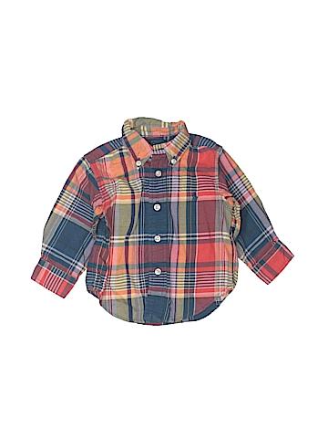 Ralph Lauren Long Sleeve Button-Down Shirt Size 9 mo