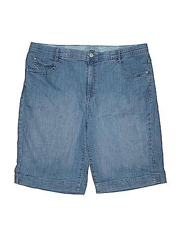 Gloria Vanderbilt Denim Shorts Size 20 (Plus)