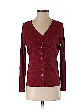 Petite Sophisticate Silk Cardigan Size M