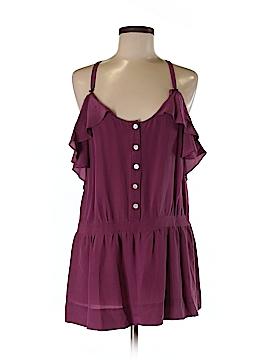...Trinity Sleeveless Silk Top Size M