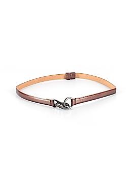 WCM New York Leather Belt Size XS - Sm