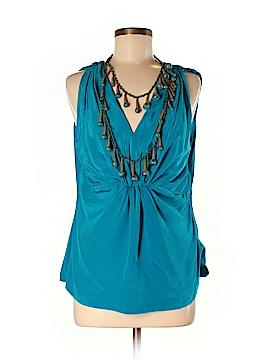 Ranna Gill Sleeveless Silk Top Size L