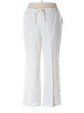 JM Collection Linen Pants Size 20 (Plus)