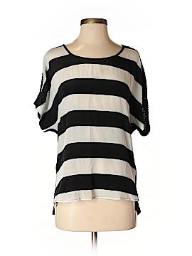 Ella Moss Short Sleeve Silk Top Size XS