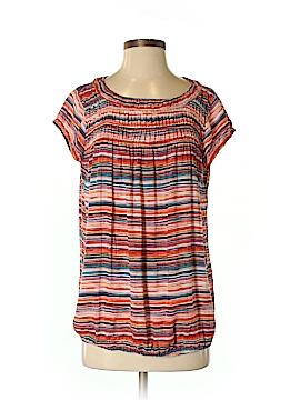 Ann Taylor LOFT Outlet Women Short Sleeve Blouse Size S