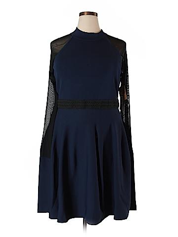 RACHEL Rachel Roy Casual Dress Size 3X (Plus)